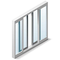 Sicherheits-Fensterrahmen