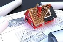 Bauzeichnung und Modell: Dacharbeiten