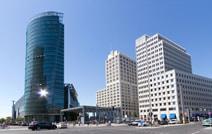 Glasfassaden und Zuckerbäckerstil: Potsdamer Platz, Berlin