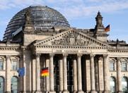 Glaskuppel des Reichstags in Berlin