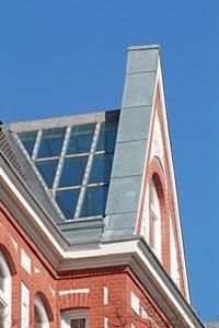 Alufenster: Verglasung eines Daches
