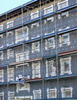 Schallschutzfenster in Bau