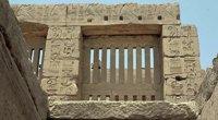 Steingitter-Fenster in Karnak / Ägypten